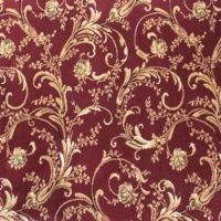 Emporer Woven Wilton Carpet Color 802 Burgundy