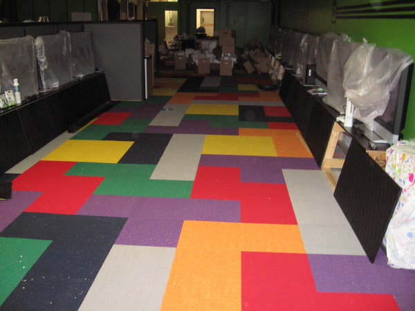 Game Room Carpet Tiles